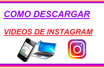 como descargar videos de instagram