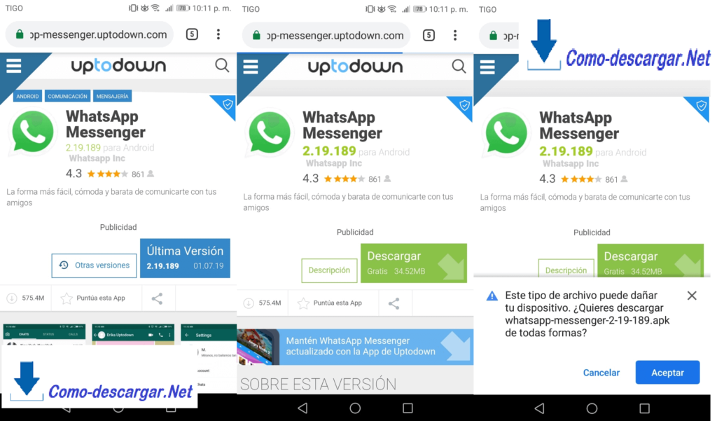 whatsapp messenger instalar