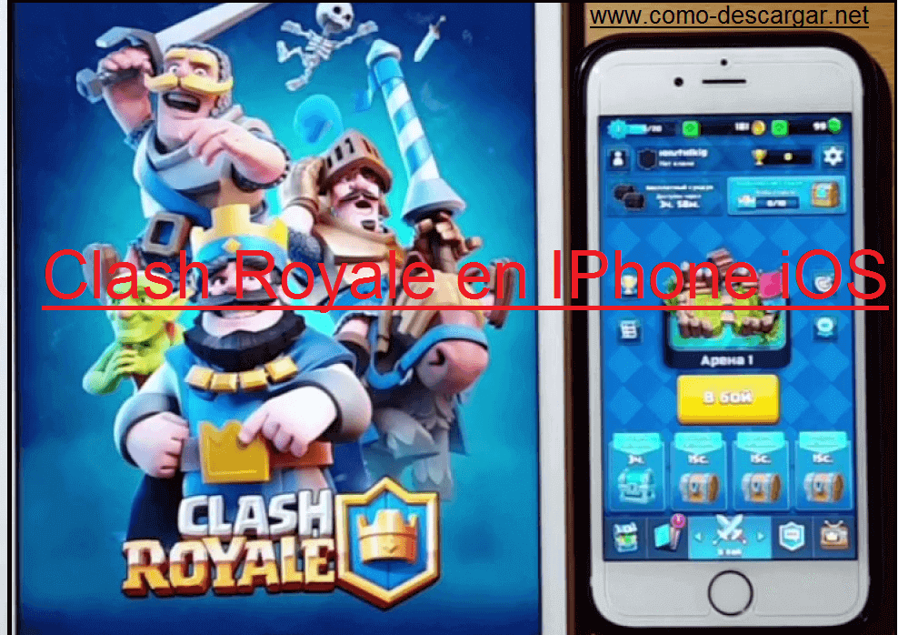 descargar clash royale para iphone ios