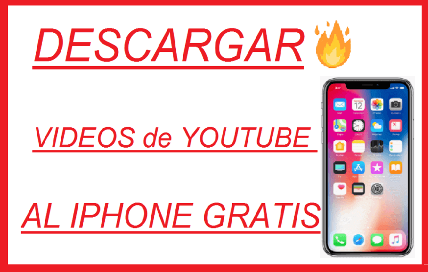 descargar videos de youtube al iphone