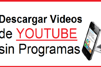 descargar videos de youtube gratis sin instalar programas